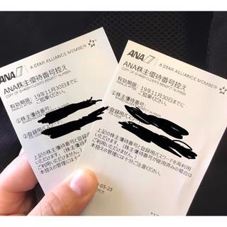 エーエヌエー(ゼンニッポンクウユ)(ANA(全日本空輸))のANA (全日本航空)2枚セット 【大幅値下げ】(その他)