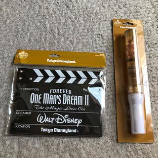 Disney - ワンマンズドリーム カチンコ ライトセット