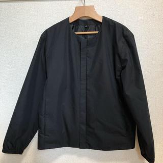 ムジルシリョウヒン(MUJI (無印良品))のブルゾン 無印 ノーカラー ジャケット(ノーカラージャケット)