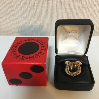 テンダーロイン(TENDERLOIN)の10号 美品 テンダーロイン 8K ホースシューリング チックサイズ(リング(指輪))