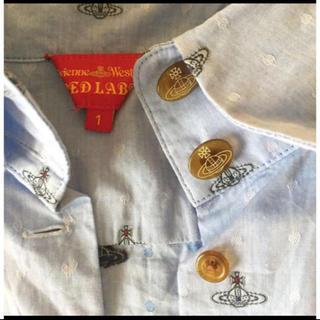 ヴィヴィアンウエストウッド(Vivienne Westwood)のヴィヴィアンウエストウッド💙長袖シャツ(Tシャツ(半袖/袖なし))