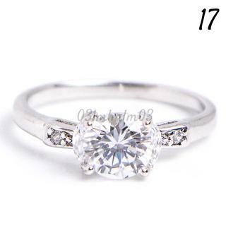 C11 リング 17号 CZ ダイヤモンド シンプル レディース(リング(指輪))