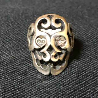 silver925リング  ダイヤモンド入り(リング(指輪))