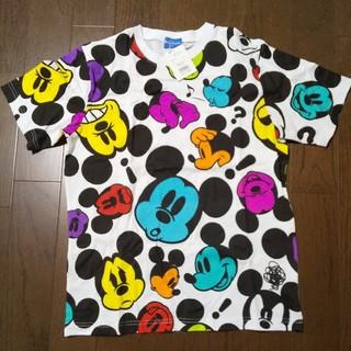 Disney - 新品未着用 ミッキー総柄 Tシャツ