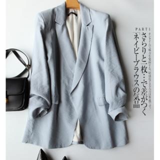 人気ファッションの洋風シャツのシフォンシャツの土着の復古上着(シャツ/ブラウス(長袖/七分))