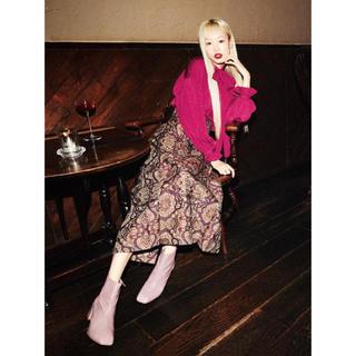 リリーブラウン(Lily Brown)のリリーブラウン新品★完売スカート★今期★ミドリサイズ1(ロングスカート)