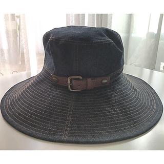 バーバリーブルーレーベル(BURBERRY BLUE LABEL)のバーバリー ブルーレーベル  デニム ハット  帽子 57cm(ハット)