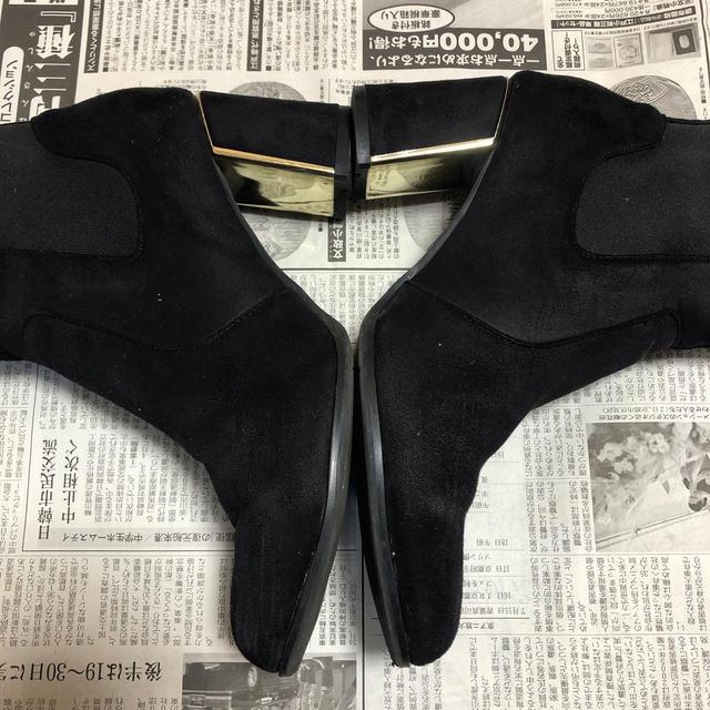 ORiental TRaffic(オリエンタルトラフィック)の秋冬素材スエードのブーティー  レディースの靴/シューズ(ブーティ)の商品写真
