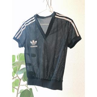 adidas - adidasアディダスメッシュTシャツ