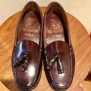 プラージュ(Plage)のCAMINANDO カミナンド プラージュ タッセル ローファー サイズ6(ローファー/革靴)