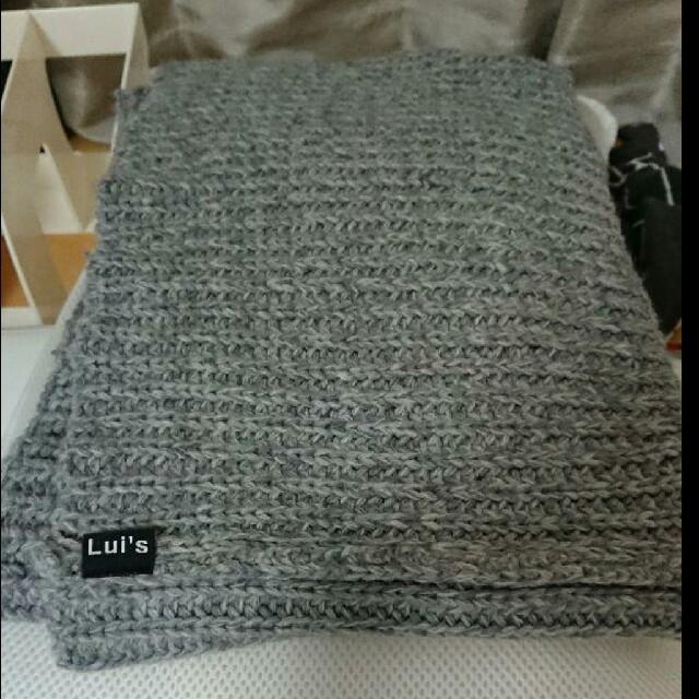 HARE(ハレ)のルイスLuis スヌード メンズのファッション小物(マフラー)の商品写真
