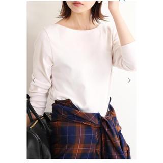 イエナ(IENA)のAURALEE IENA 別注ボートネックTシャツ(Tシャツ(長袖/七分))