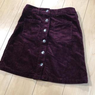 ローリーズファーム(LOWRYS FARM)のコーデュロイスカート スカート ローリーズファーム(ミニスカート)