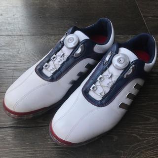 adidas - ADIDAS / ピュア メタル BOA ゴルフシューズ