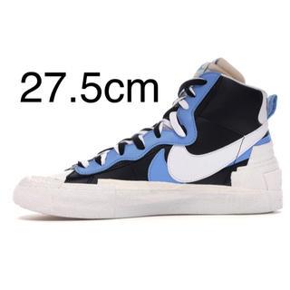 NIKE - Nike×sacai  NIKE BLAZER MID ブルー 27.5