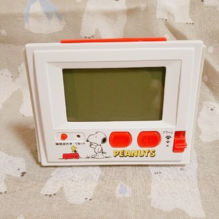 スヌーピー(SNOOPY)のスヌーピー 置き時計 多機能(置時計)