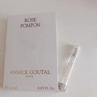 アニックグタール(Annick Goutal)のアニックグタール ローズボンボン オードトワレ サンプル(香水(女性用))