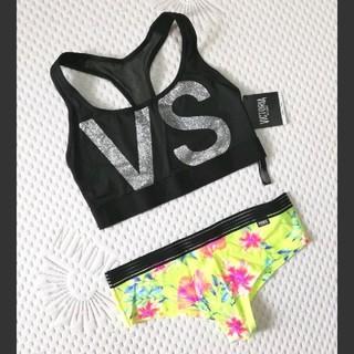 ヴィクトリアズシークレット(Victoria's Secret)の新品 Victoria's Secret スポーツブラ & ショーツ(ブラ&ショーツセット)
