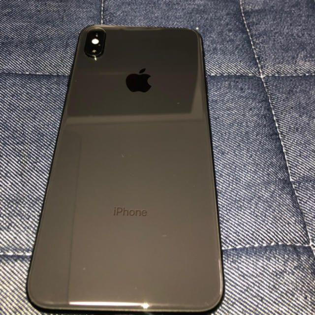 iPhone(アイフォーン)のIPhone XS MAX 256GB スペースグレー スマホ/家電/カメラのスマートフォン/携帯電話(スマートフォン本体)の商品写真