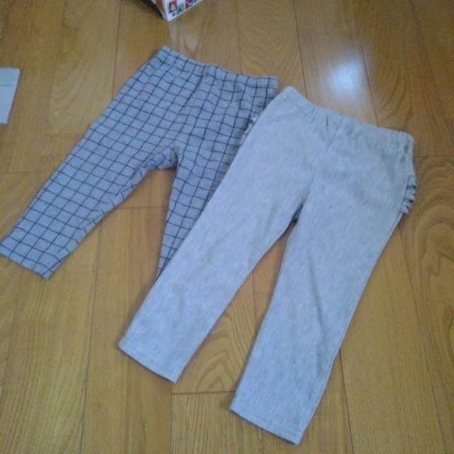 UNIQLO(ユニクロ)のレギンス 80 90 キッズ/ベビー/マタニティのベビー服(~85cm)(パンツ)の商品写真