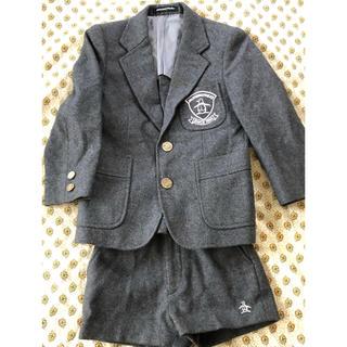 マンシングウェア(Munsingwear)のマンシングウエア 上下スーツ 七五三や入学式に グレー110(ドレス/フォーマル)