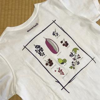 mont bell - mont-bell Tシャツ レディースL 綿 白