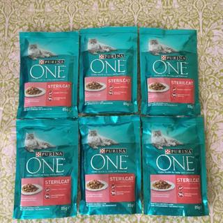 ネスレ(Nestle)のピュリナワンパウチ ウェットフード サーモン 6個セット  (猫)