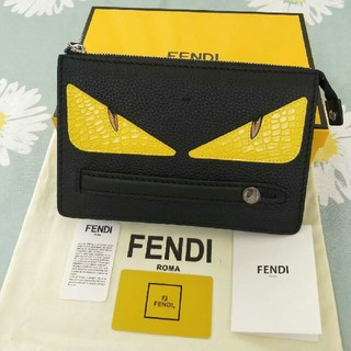 FENDI - FENDI フェンディ クラッチバッグ