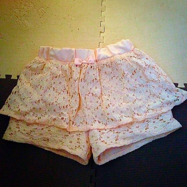 GU(ジーユー)のキュロット キッズ/ベビー/マタニティのキッズ服 女の子用(90cm~)(スカート)の商品写真