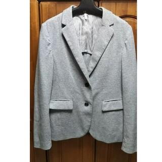 ムジルシリョウヒン(MUJI (無印良品))の無印良品  MUJI ジャケット  グレー  スエット生地  リフレク(テーラードジャケット)