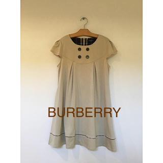 BURBERRY - バーバリーロンドン⭐️ワンピース 160A