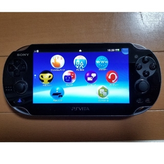 PlayStation Vita - PSVITA 本体 PCH-1100 オマケ付