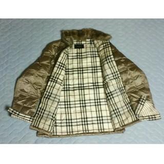 BURBERRY BLACK LABEL - バーバリーブラックレーベル ショート丈  ダウンジャケット  Mサイズ 中古品