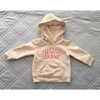 ベビーギャップ(babyGAP)のbaby GAP 裏起毛パーカー 70(トレーナー)