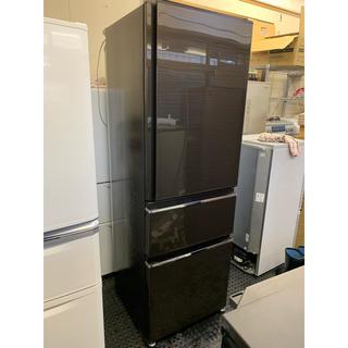 三菱 - 2016年製 三菱冷蔵庫  自動製氷 3ドア 365L mr-cx37a-br