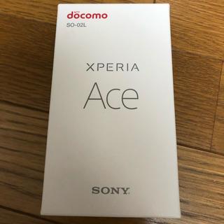 ソニー(SONY)のXperia ace ブラック(スマートフォン本体)