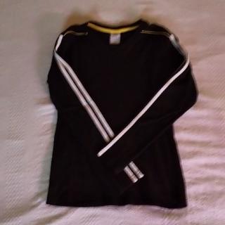 アディダス(adidas)のアディダス  VネックロングTシャツ   ロンT(Tシャツ(長袖/七分))