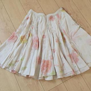 フランシュリッペ(franche lippee)のぼんやりスカート(ひざ丈スカート)