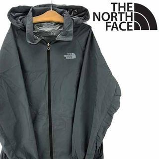 THE NORTH FACE - ノースフェイス ナイロンジャケット パーカー グレー L