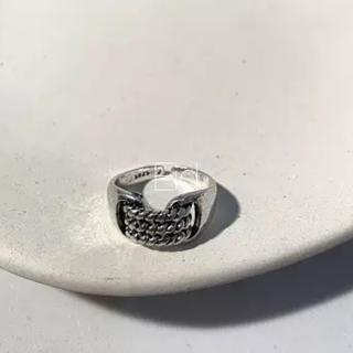 アメリヴィンテージ(Ameri VINTAGE)のVintage point chain ring No.157(リング(指輪))