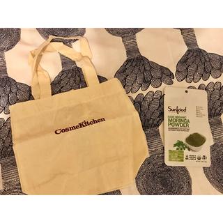 コスメキッチン(Cosme Kitchen)の新品未開封 コスメキッチン 布バッグ sunfood サンプル セット(ダイエット食品)