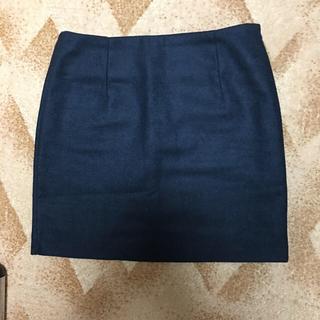 KURICA の ミニ スカート s 紺色(ミニスカート)