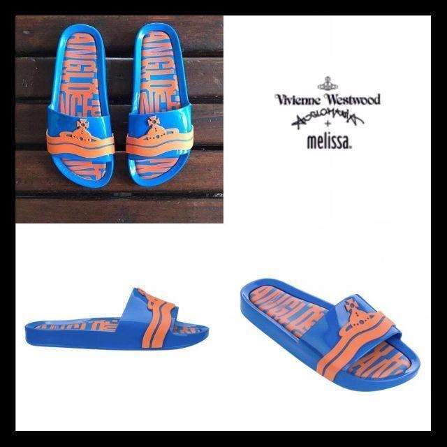 Vivienne Westwood(ヴィヴィアンウエストウッド)のVivienne×melissa◆ビーチサンダル◆24.5cm レディースの靴/シューズ(サンダル)の商品写真