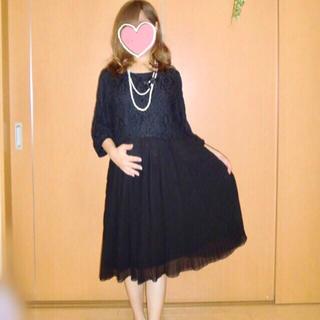マタニティ フォーマル ワンピース ♥ 授乳服 大きいサイズ