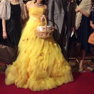 マーキュリーデュオ(MERCURYDUO)のカラードレス黄色(ウェディングドレス)