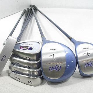 MIZUNO - mizuno opti ゴルフクラブハーフセット7本+キャディバッグ+ボール8個