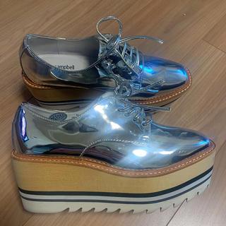 ジェフリーキャンベル(JEFFREY CAMPBELL)のジェフリーキャンベル 厚底靴37(ローファー/革靴)