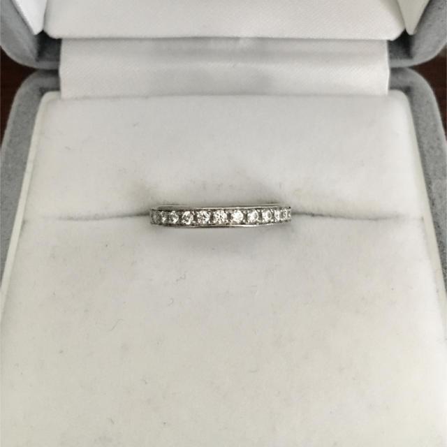 4℃(ヨンドシー)のcanal 4℃ ダイヤモンド エタニティ リング Pt900 3.3g レディースのアクセサリー(リング(指輪))の商品写真