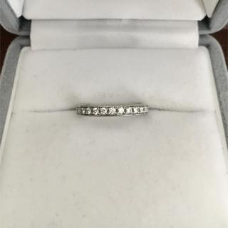 ヨンドシー(4℃)のcanal 4℃ ダイヤモンド エタニティ リング Pt900 3.3g(リング(指輪))