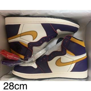 Nike SB × Air Jordan 1 LA TO CHICAGO